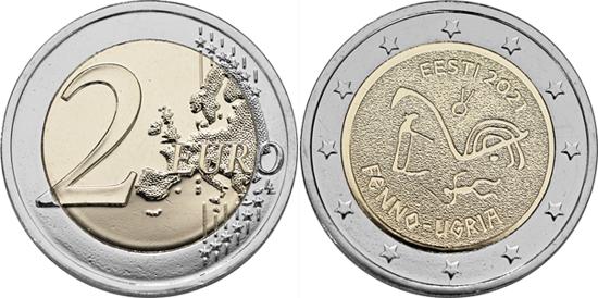 Estonia 2 euro 2021 - Finno-Ugric peoples