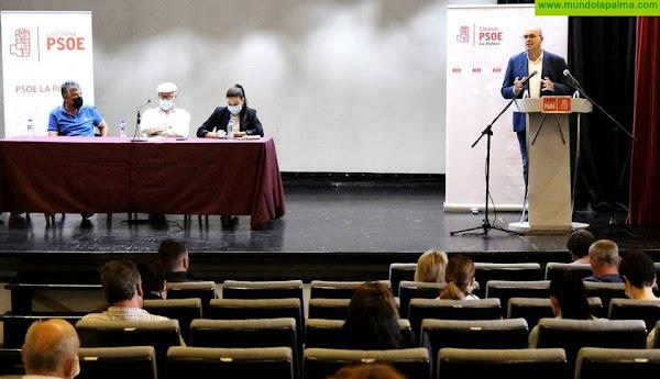 """El PSOE celebra el comité insular con el compromiso de seguir siendo """"el motor del cambio"""" en La Palma"""