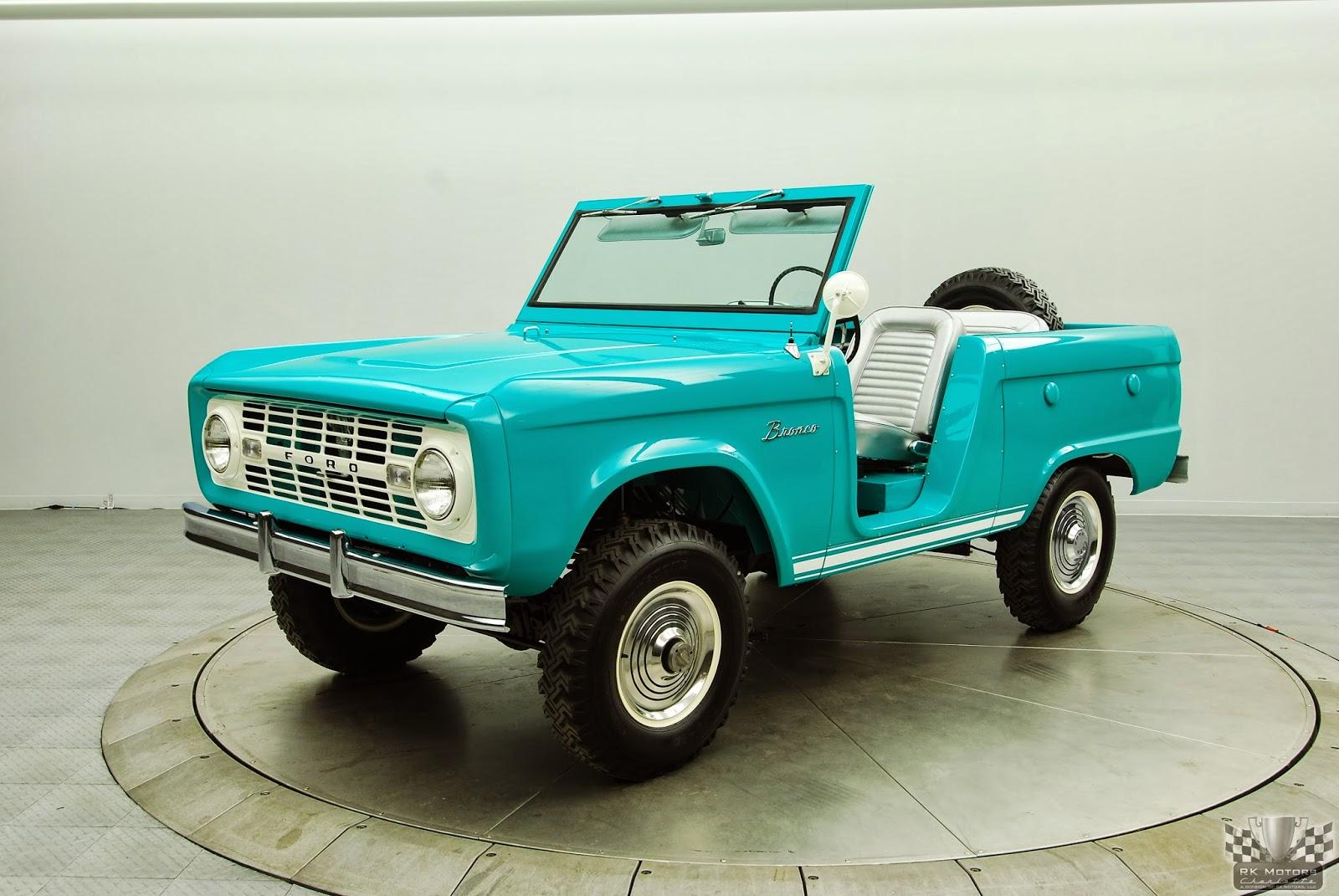 Net Cars Show: Ford 1st Generation Bronco U13 Roadster (1966-68)