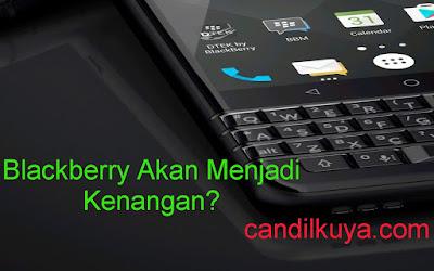 Putus Hubungan Dengan TCL, Blackberry Akan Menjadi Kenangan?