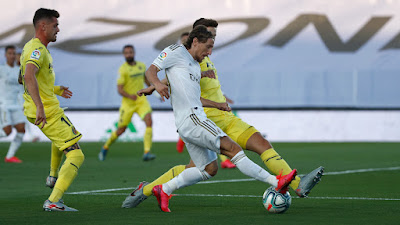 ملخص واهداف مباراة ريال مدريد وفياريال (2-1) تعليق حفيظ دراجي