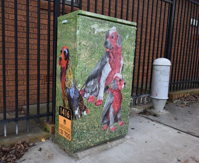 Utility Art in St Peters Sydney