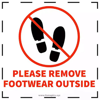please remove your shoes sign free images