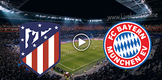 مشاهدة مباراة بايرن ميونخ واتليتكو مدريد بث مباشر بتاريخ 21-10-2020 في دوري أبطال أوروبا