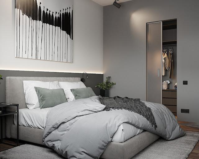 Thiết kế và thi công hoàn thiện nội thất căn hộ chung cư Sunshine Diamond River Quận 7 - Phòng Ngủ 2