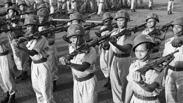 Tatang Endan, Veteran Pelajar Pejuang 1945: Perjuangan