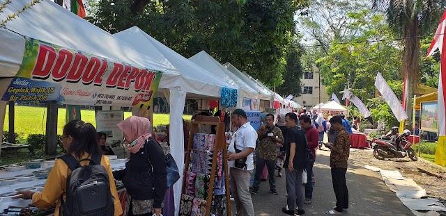 Bazar DKUM Perkenalkan Produk Wirausaha Baru