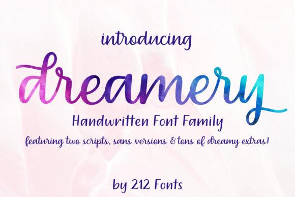 Dreamery Family Font
