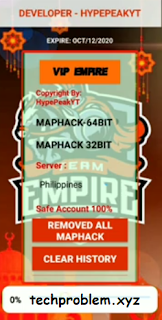 APK VIP Empire Radar Map No Banned No Detect Mobile Legends