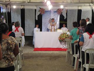 Imagens da 2ª noite do triduo em honra a São José em Almino Afonso - RN