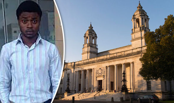 Nigerian student is jailed for sex attack after young woman recorded her pleas for him to stop on her phone