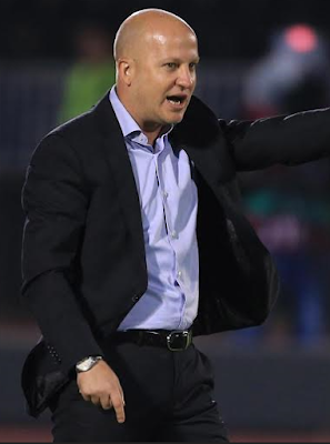 Slovenian coach Marko Nikolac calls blessing eke black idiot
