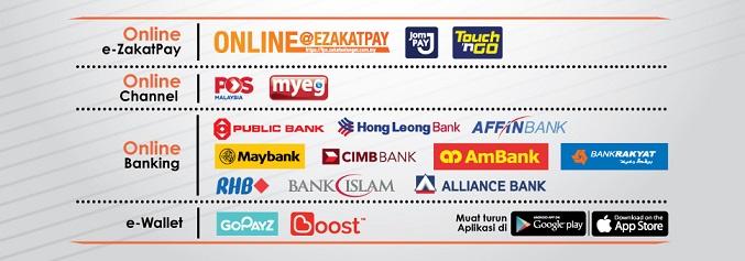 Pembayaran Zakat Online