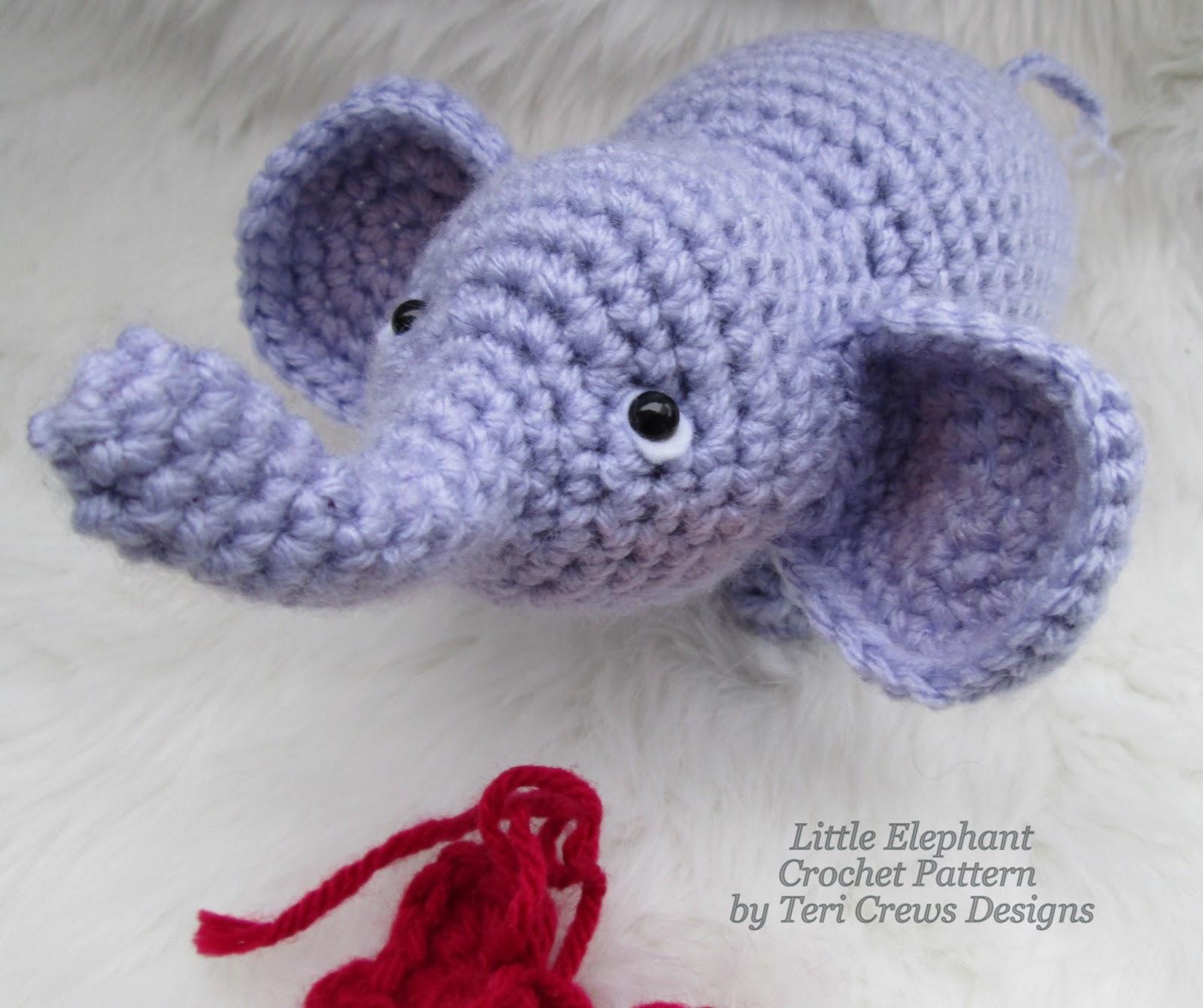 Teri's Blog: Free Little Elephant Crochet Pattern