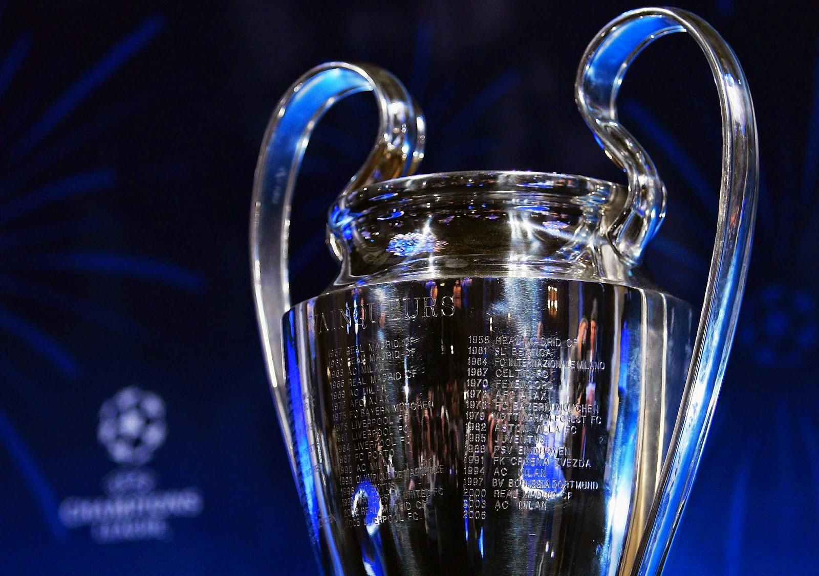 Hasil Drawing 16 Besar Liga Champions 2014/2015