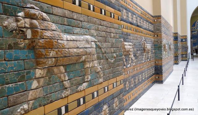 Frisos de la Vía de las Procesiones de Babilonia - Museo Pergamo - Berlín - Pergamon museum