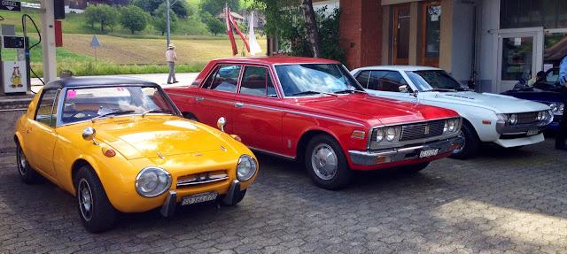 Toyota Sports 800, Crown MS55 oraz Celica TA22, klasyczne samochody