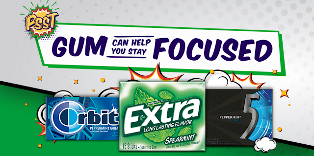 Mars Wrigley Brands Extra, Orbit and 5gum want to help you stay focused on whatever your dreams are, and they are giving away almost $150,000 in gift card prizes to lucky winners!