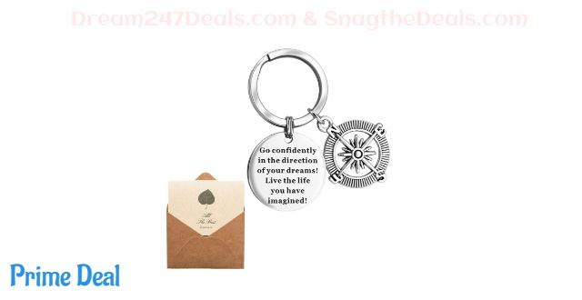 50% off Motivational Keychain/Graduation Keychain Gift