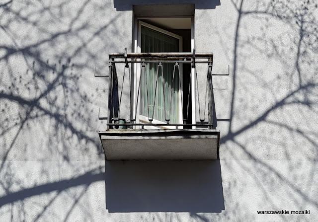 Warszawa Warsaw Saska Kępa blok bloki architektura architecture balkon