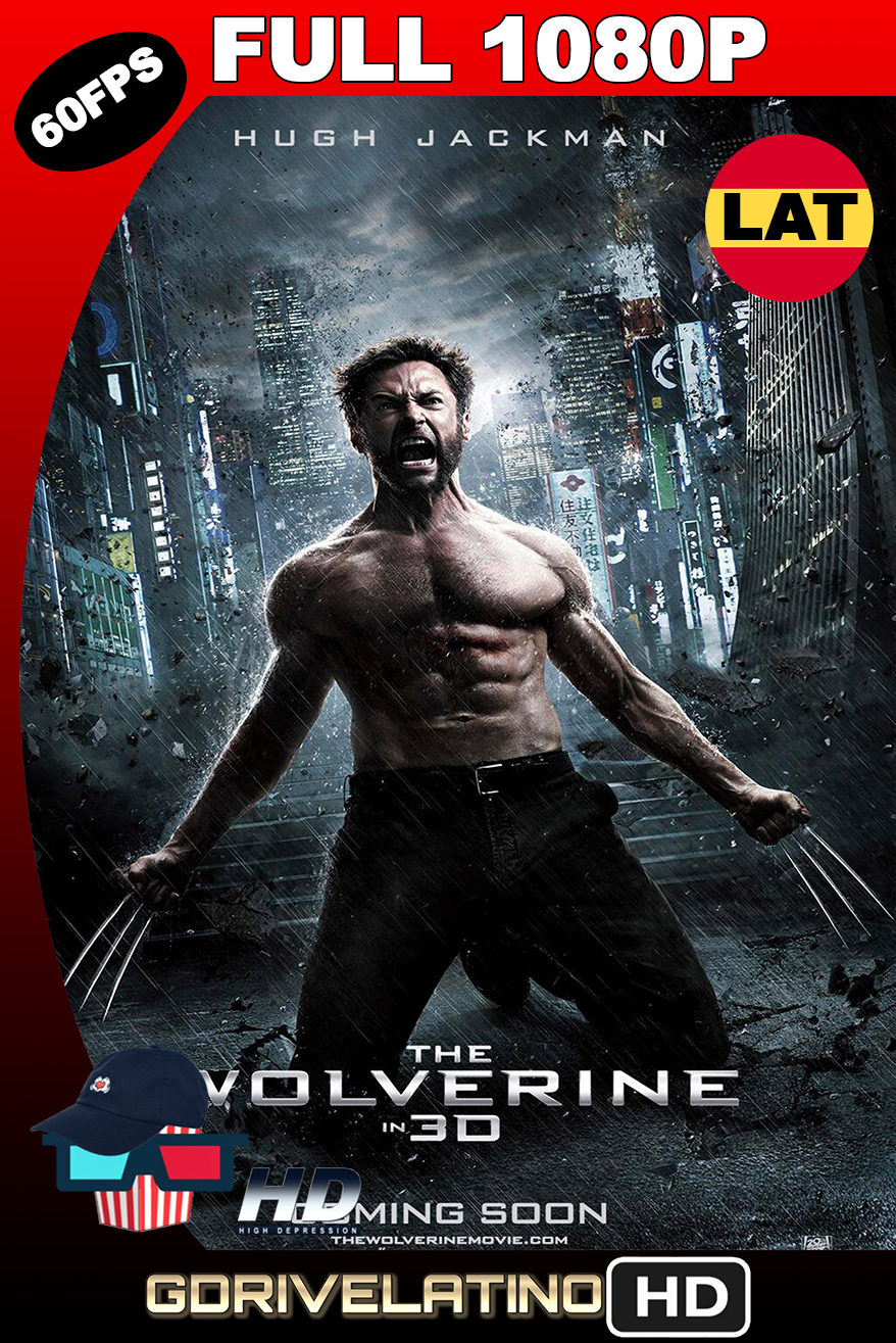 The Wolverine (2013) THEATRICAL CUT BDRip 1080p (60fps) Latino-Ingles MKV
