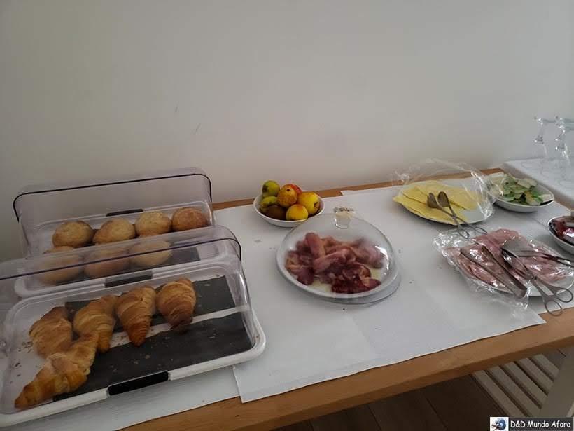 Mais detalhe do café da manhã no Hotel Infusion - onde ficar em Óbidos