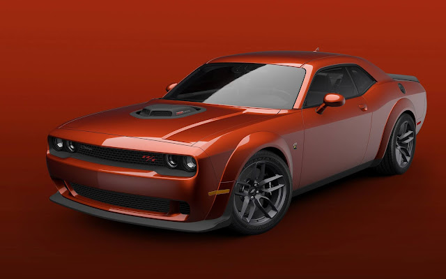 Go Wide: 2021 Dodge Challenger R/T Scat Pack Shaker and T/A 392 Now Available With Widebody Package
