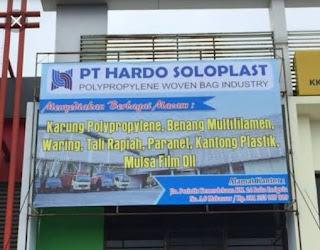 Lowongan Kerja PT Hardo Soloplast Terbaru 2020