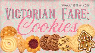 Kristin Holt | Victorian Fare: Cookies