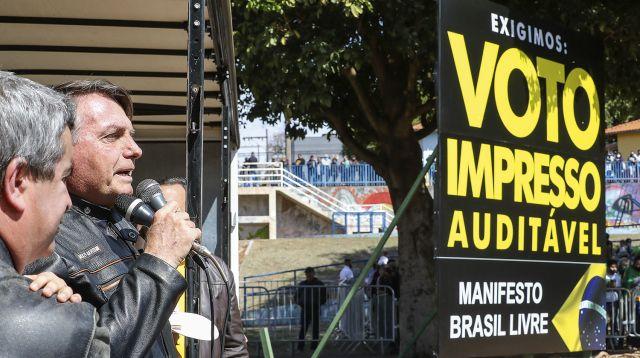 Deputados Bolsonaristas acreditam em derrota do voto impresso