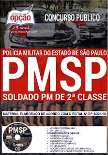 Baixar Apostila Concurso PM SP 2018 - Soldado 2ª Classe