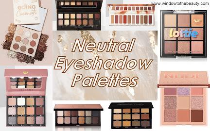 Neutral Eyeshadow Palettes