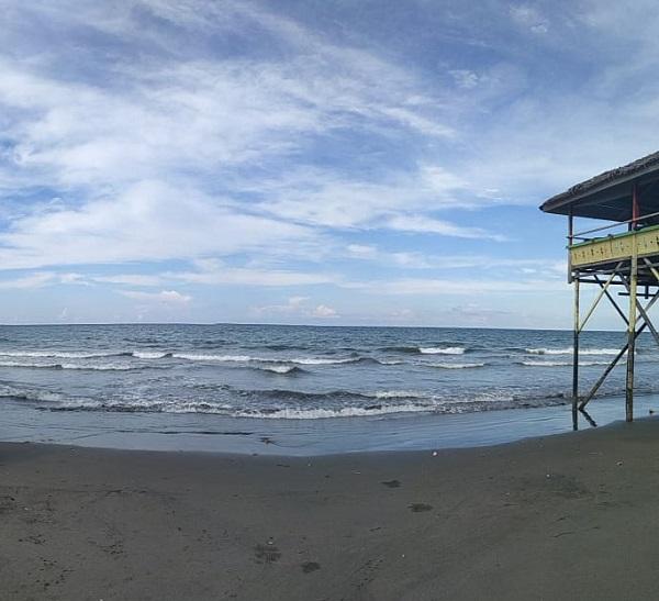 pantai ujong blang destinasi wisata di lhokseumawe