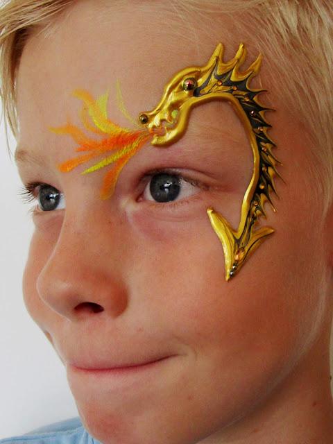 Blikfang ansigtsmaling Dragon