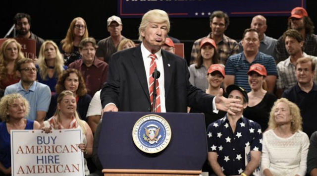 "Alec Baldwin ""So Done"" With 'SNL' Trump Gig: ""I Can't Imagine I Would Do It Again"""