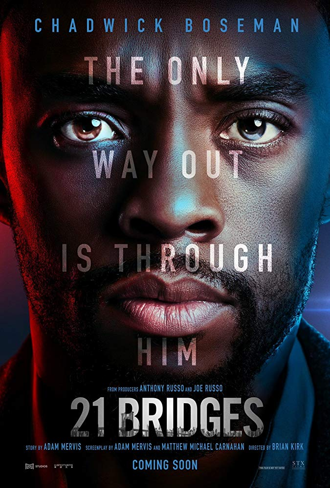 Download Full Movie 21 Bridges 2019