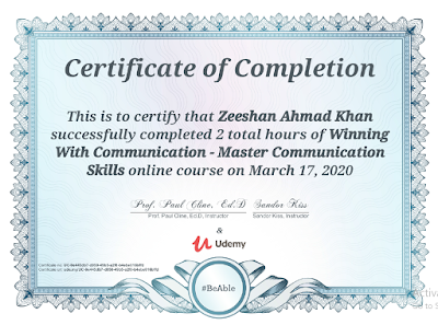Masters in communication