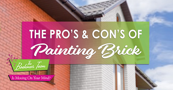 The Pros and Cons of Painting Brick