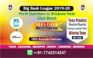 cricket prediction 100 win tips Brisbane vs Perth