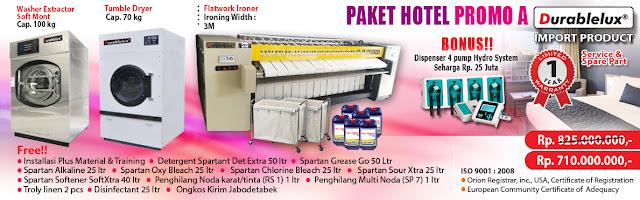 PROMO-PAKET-HOTEL-A3 Menyediakan Kredit Usaha Laundry Hotel dan Laundry Rumah Sakit