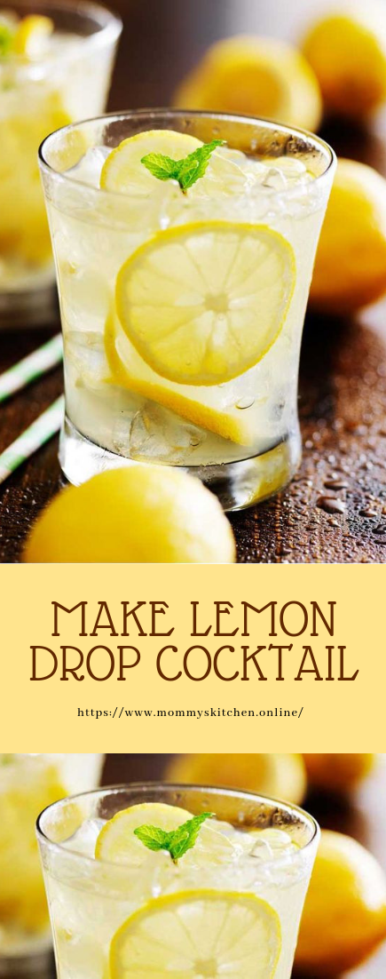 MAKE LEMON DROP COCKTAIL #cocktailrecipe #easy