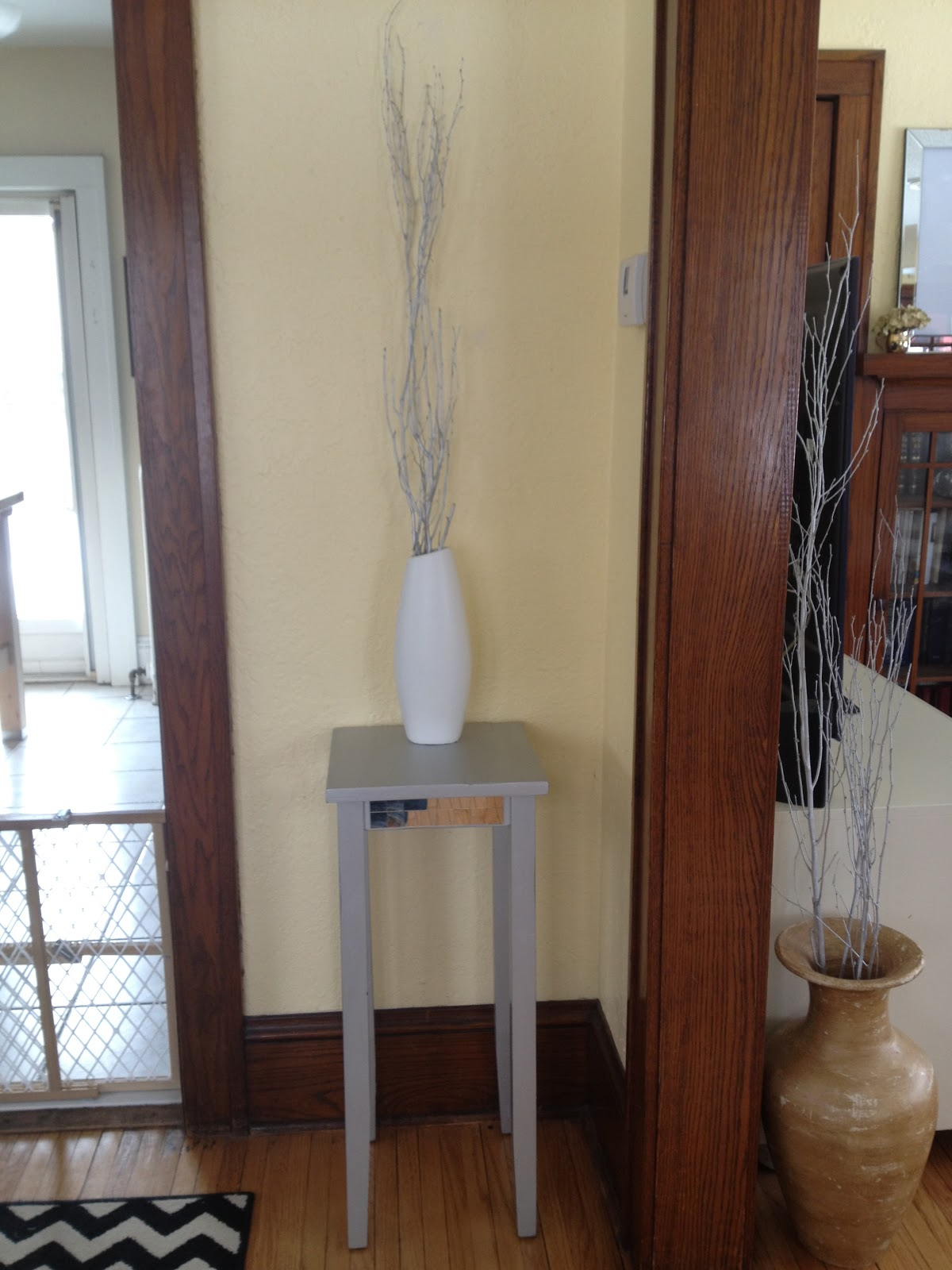 Inside Out Design Silver Dipped Table Legs
