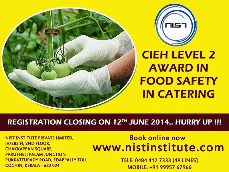 Food safety courses in Cochin | CIEH Food Safety and HACCP