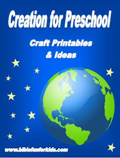 http://www.biblefunforkids.com/2015/10/creation-preschool-projects.html