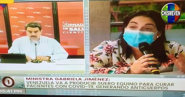 Maduro anuncia producción de Suero de Caballos para combatir al virus