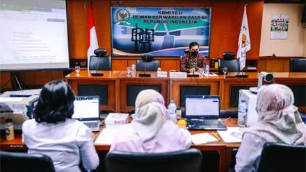 BAP DPD RI Bahas Sengketa Lahan Suku Dayak di Kalimantan Timur