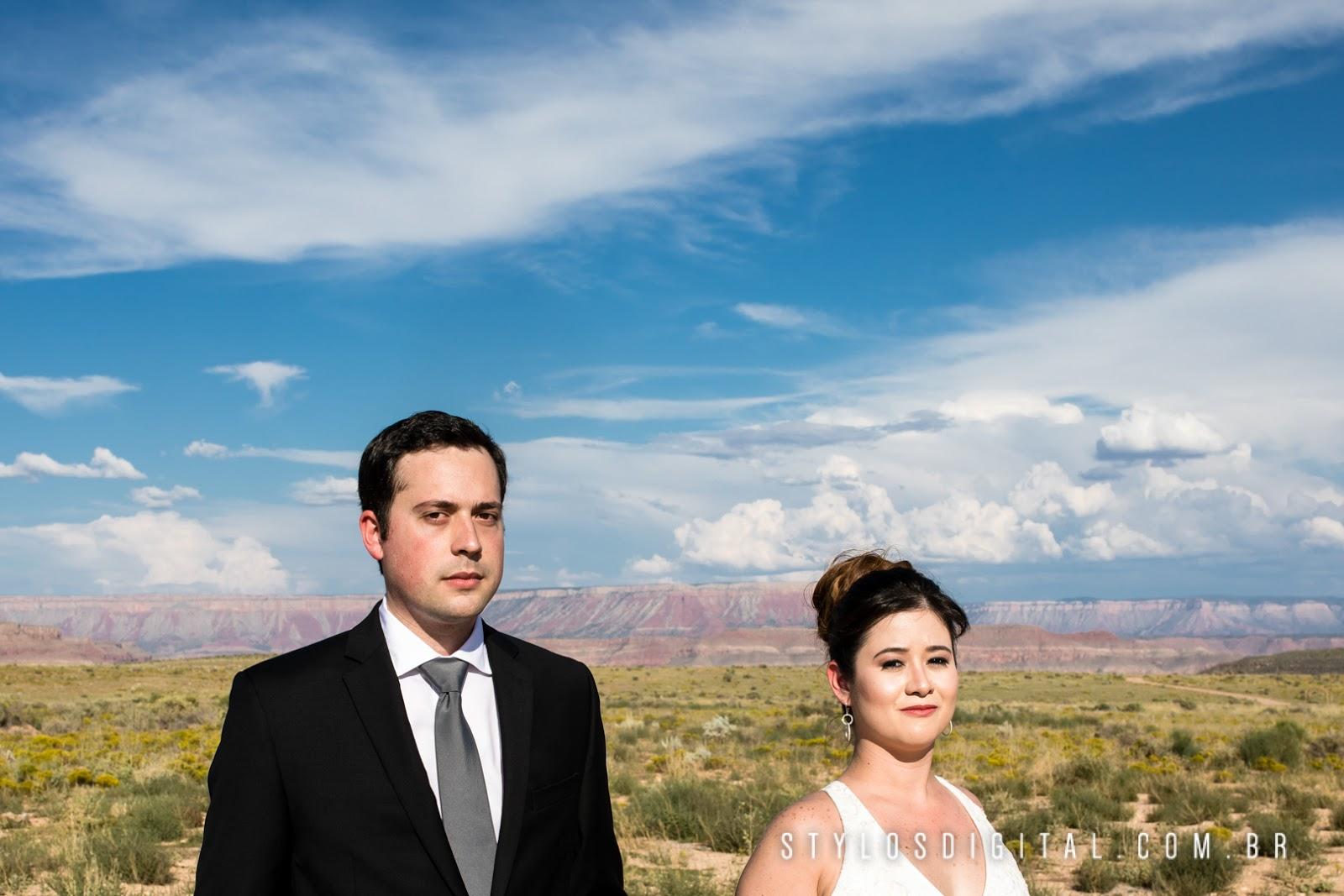 ensaio casamento grand canyon