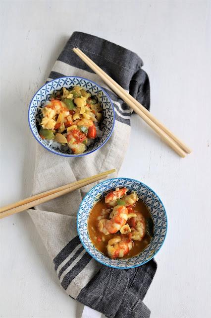 curry de gambes