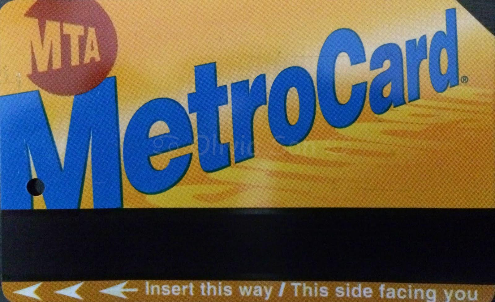 metro card, new york city, usa