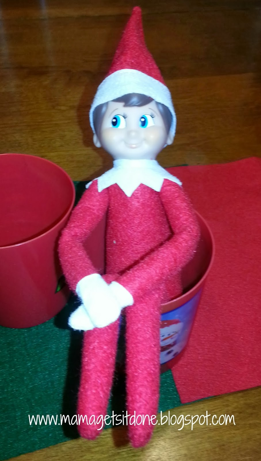 Mama Gets It Done Elf On The Shelf Arrives